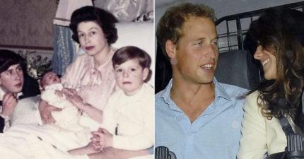 19張首曝光英國皇室獨家私下照 9歲威廉牽王太后好Q