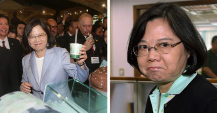 蔡英文打臉「湯匙說」:珍奶不用吸管喝是要用什麼?