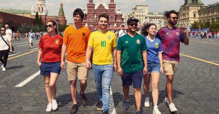 世界盃場外驚現「隱形的彩虹」!紅橙黃綠藍靛紫意義非凡❤