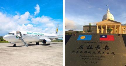 堅持不與台灣斷交!遭中國恐嚇阻斷觀光經濟 帛琉航空怒:停飛中國線