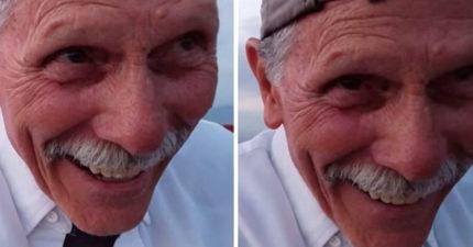 孫子求婚請爺爺幫錄影 一看鏡頭完全擺反「滿版燦笑」!