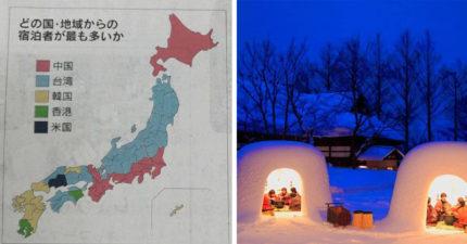 台灣人多愛遊日?日本外國遊客分布 北陸+東北「全被台灣人吃下」
