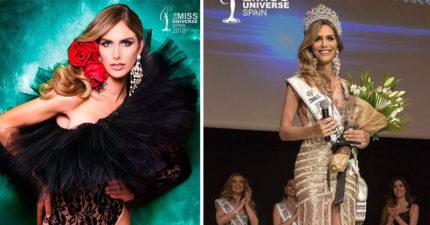 史上第一位!跨性別者獲選「西班牙小姐」 代表國家參選環姐:我是擁有王冠的女王