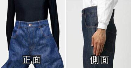 像PS過頭的「時尚軟腿牛仔褲」 超奇葩褲管連阿嬤看到都叫你:乾脆別穿!