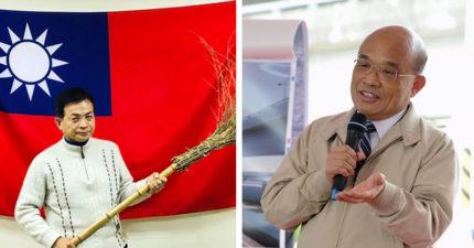 藍委酸蘇貞昌想「拿掃把上戰場」 網友貼出「國3生的答案」神打臉:要不要回去念書?