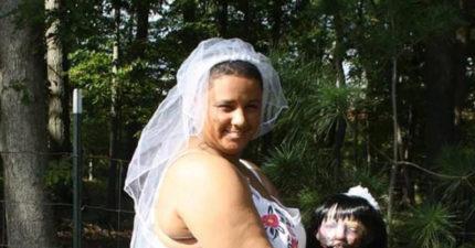 21歲嫩妹嫁給「交往5年的醜臉殭屍」 新郎的「性別」讓整個故事更怪了...
