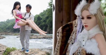 離婚爺爺砸60萬買「精靈系充氣娃」 路人伸手卻被兒子警告:那是我妹!