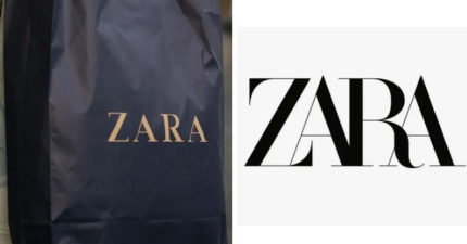 ZARA的新LOGO就像「硬要擠進褲子的你」 2030年的商標還被搶先公佈...超慘!