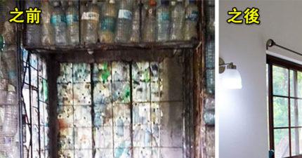 地球有救了!他突發奇想「用塑料瓶建房子」 超豪華「古典城堡風成品」直接顛覆環保界