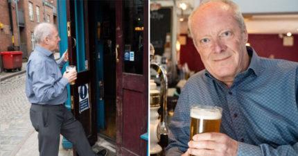 74歲老翁「征服50000家酒吧」破世界紀錄 公佈每天堅持「喝1杯」原因:可以回春!
