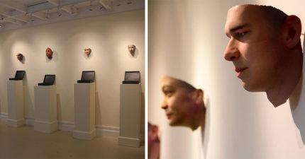 藝術家採集在地上的「菸蒂DNA」 用3D列印「真實還原」亂丟人長相!