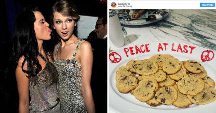 凱蒂佩芮貼文「和平至上」洩密 偷標記死對頭「準備和好」她回應了!