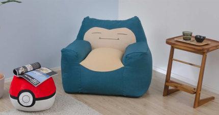 日網推「睡在卡比獸肚子上」的超萌造型沙發 「寶貝球」的功能讓你可以更廢!