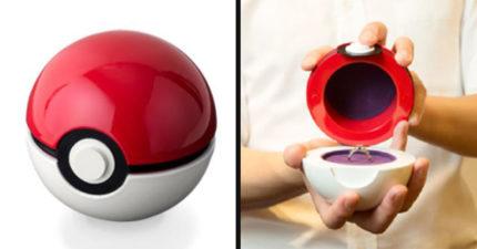 日推出「讓求婚成功率翻倍」寶可球戒指盒 打開「秒收服」愛人!