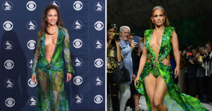 珍妮佛羅培茲重披「20年前戰袍」 身材變「更驚人」網嚇翻:她吃了什麼!