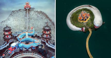 國外攝影師列「全亞洲最霸氣」的8間寺廟 台灣這座「經典建築」美到直接上榜2次!