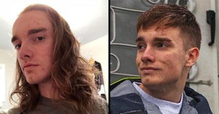 17張證明改變髮型「能讓任何男生變希臘天神」的前後對比照