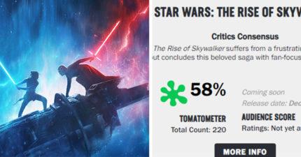 《星際大戰9》首波評分出爐!爛番茄意外「開出58分」被批:情節太鬆散