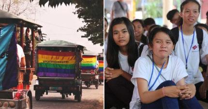 柬埔寨2020年「LGBTQ」納國中課程 盼彩虹族群「不再接受治療」!