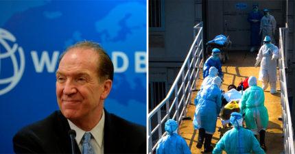 世界銀行總裁宣布「不金援中國」抗疫 僅提供技術協助:中國夠有錢了!