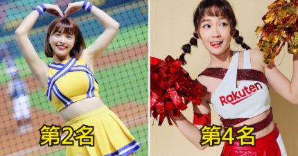 網票選「高人氣啦啦隊女神Top20」 第一名是超紅YouTuber!