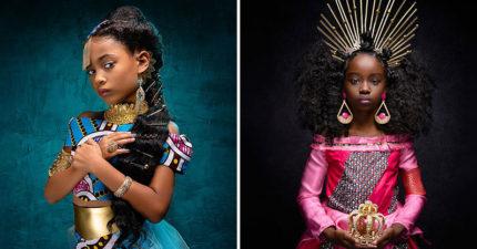 攝影師拍「新版迪士尼公主」 證明「無論膚色」每個人都一樣美