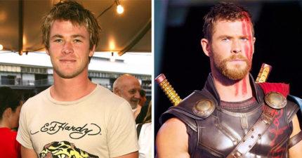 16張「成為超級英雄之前」的演員對比照 年輕的美隊根本小鮮肉