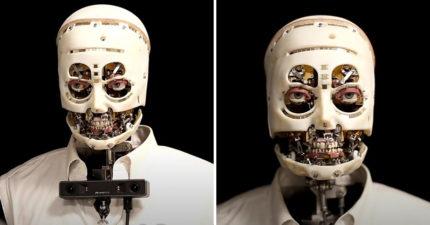 迪士尼推「無皮機器人」神模仿人類 細看「眼球功能」會嚇壞