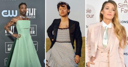 誰都可以穿裙子!25位「突破性別疆界」的名人 前NBA球星「胸罩」超豪放