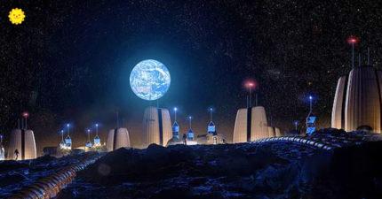 「住在月球上」的真正模樣?太空總署開發「月球村」 內裡只能爬梯