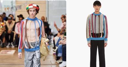 驚世作品?超潮「0保暖毛衣」賣天價 設計師曝「想傳遞的理念」網:好難懂
