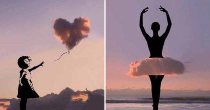 15張「把雲朵當成畫筆」夢幻剪影照 《阿拉丁》場景完勝動畫版