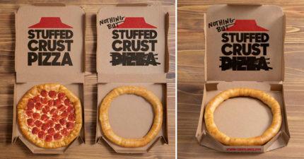 必勝客新產品「一圈餅皮」限定發售 「超鬧文案」網吐槽:不就起司麵包
