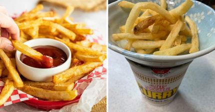 食品大牌分享「冷掉薯條變好吃」神法 先準備好一個「杯麵」!