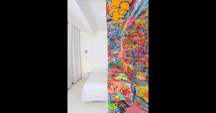 不,這不是特效。這是一個全世界最瘋狂的旅館房間。