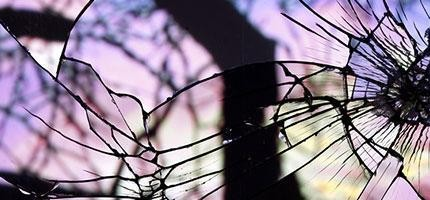 Bing-Wright的破碎鏡子日出藝術