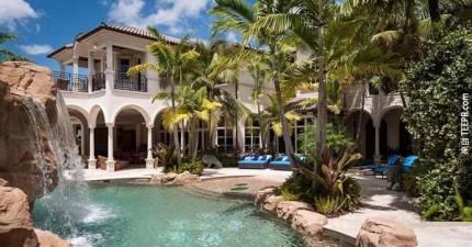 這絕對不是一棟普通的超級豪宅。裡面有幾個房間根本就是所有男生的夢想。