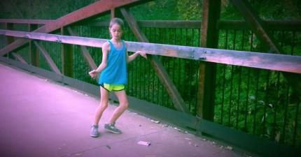 小女生Adi的驚奇舞步