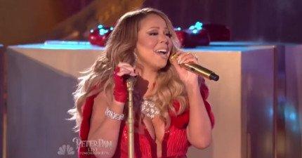 Mariah-Carey-走音