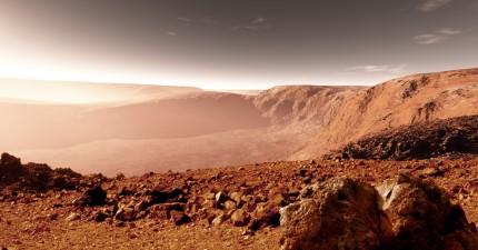 一名退休軍人揭秘自己曾在火星上工作的秘史。