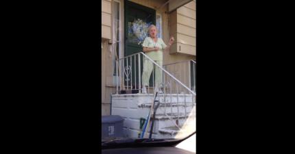89歲老奶奶跳舞