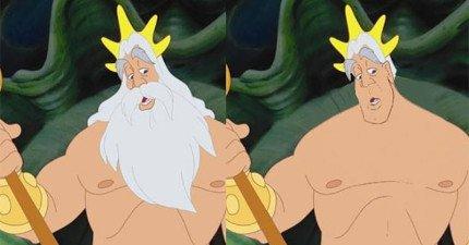 迪士尼男角色沒有鬍子