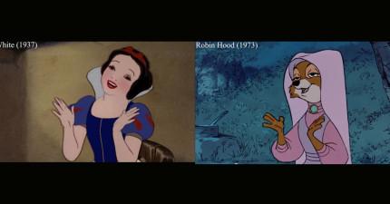 迪士尼片段重用