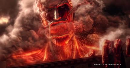 《進擊的巨人》電玩版終於要推出了!看完飛行砍殺巨人的遊戲畫面我已經掏好錢包了。