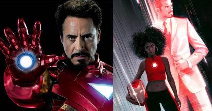 未來的《鋼鐵人》不再是東尼史塔克!居然變成這名15歲的黑人少女!