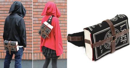 這款「魔法書包包」讓你一背上就成為魔法高手,裡頭還有會讓動漫迷爽翻的超貼心設計!