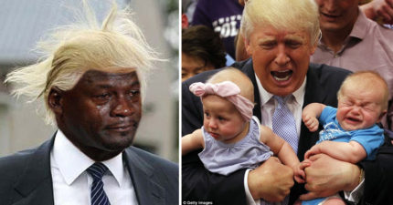 知情者透露:川普根本就沒想到當總統會有這麼多工作,現在已經藍瘦香菇了。