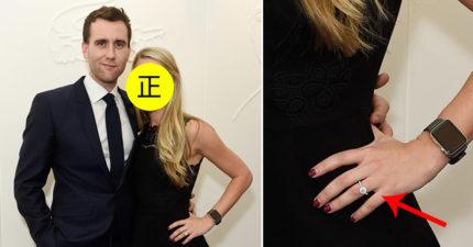 《哈利波特》奈威驚爆訂婚了!兩人因《哈利波特》定情「未婚妻正到爆」不輸妙麗!