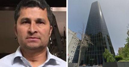 洗窗工人「從47樓掉下來」 10年後還生小孩