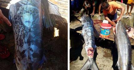 菲律賓海域捕獲「被刺青」的魚 只有「人類才有的圖案」嚇壞漁民